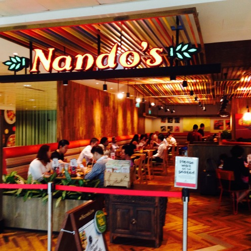 NANDO'S!!!