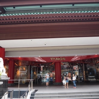 Tangs department store on Orchard Road