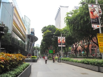 Orchard Road ~ the main shopping street