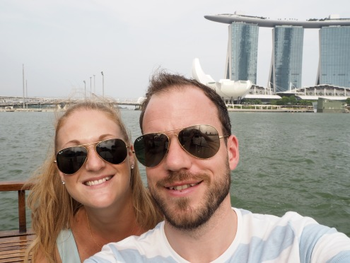 Obligatory Marina Bay Sands selfie!