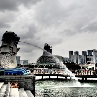 The Singaporean Merlion