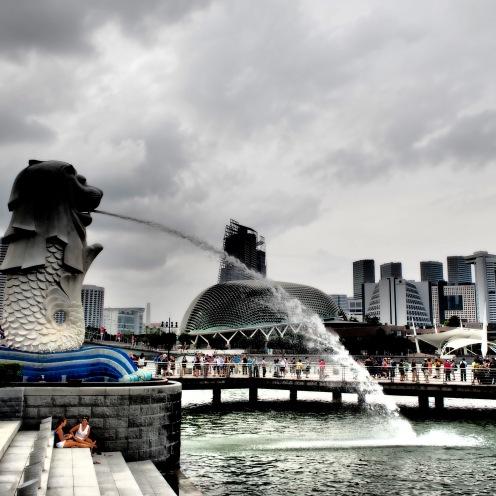The Singaporean Merlion