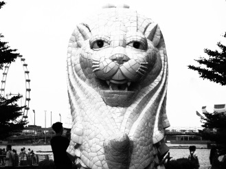The Singapore Merlion