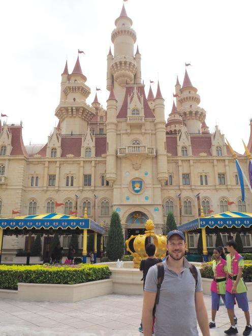 Lord Farquaad's castle in Far Far Away