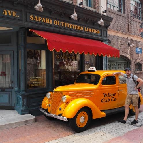 A New York taxi cab