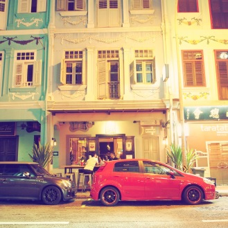 Evening on Keong Saik Road