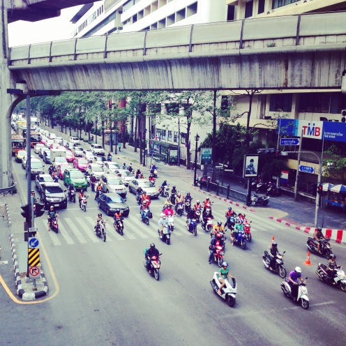 The Rachaprasong junction