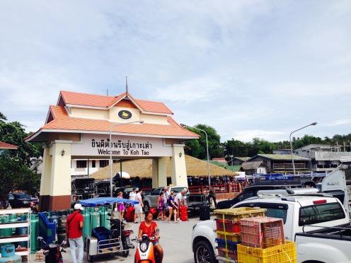 Koh Tao port