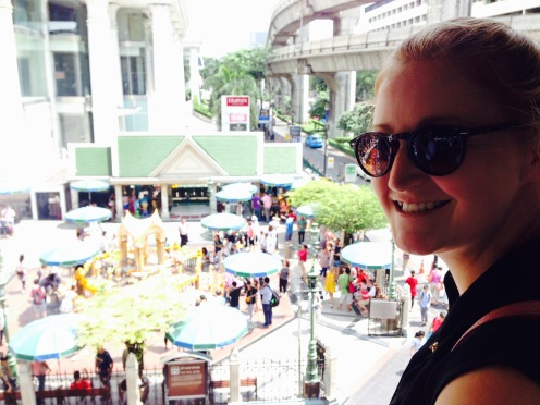 Last Thursday at the Erawan shrine