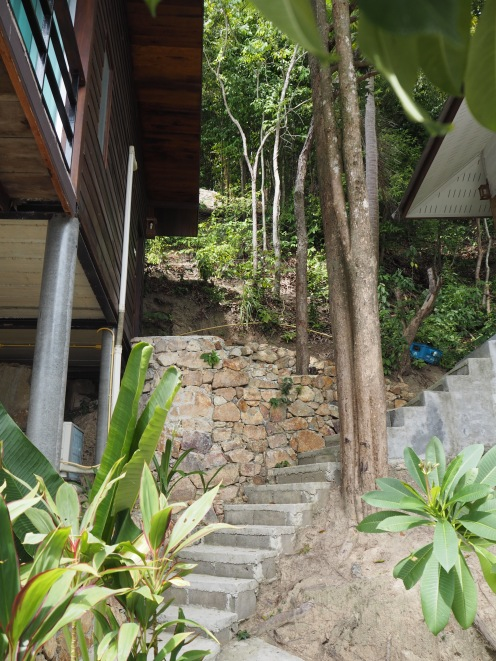 The steps to our room