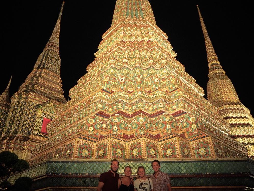 Posing at Wat Pho