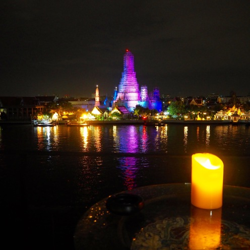 Wat Arun across the Chao Phraya river