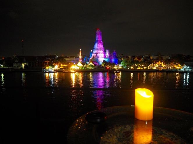 Wat Arun across the Chao Phraya river