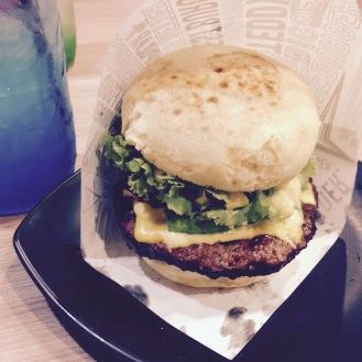 Teddy's bigger burger!