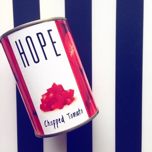 You've gotta have hope...
