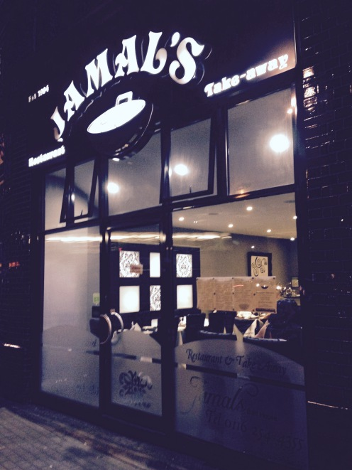 Saturday night balti with friends at the epic Jamals in Leicester