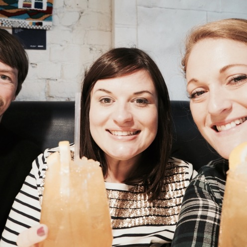 Catching up with friends and cocktails!