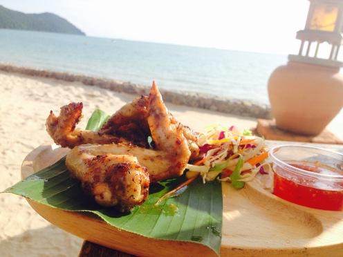 Lunch at Santhiya Resort and Spa, Koh Yao Yai