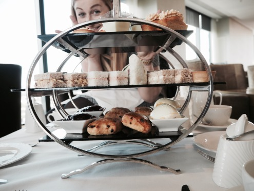 Afternoon Tea in Cloud 23