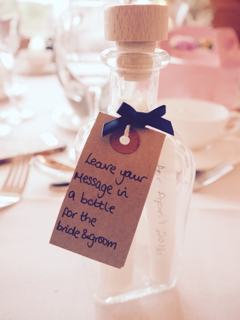 Beautiful wedding touches