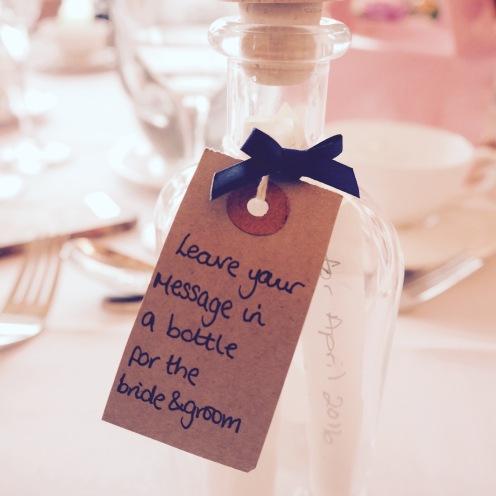 Beautiful wedding touches