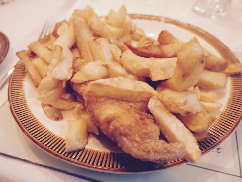 More fish and chips, this time with my grandad