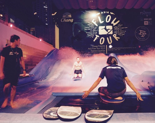 Boarding at Flow House