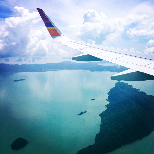 Coming into land in Phuket