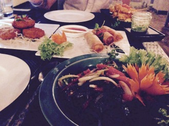 A Thai feast