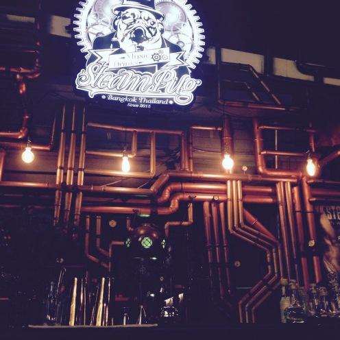 The amazing Steam Pug bar