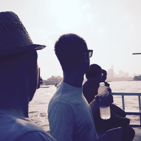 Enjoying the sights