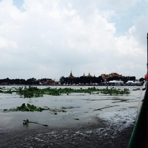 Cruising along the Chao Phraya