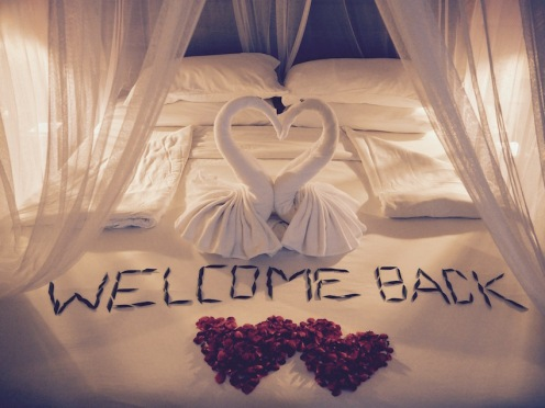Our wonderful welcome!