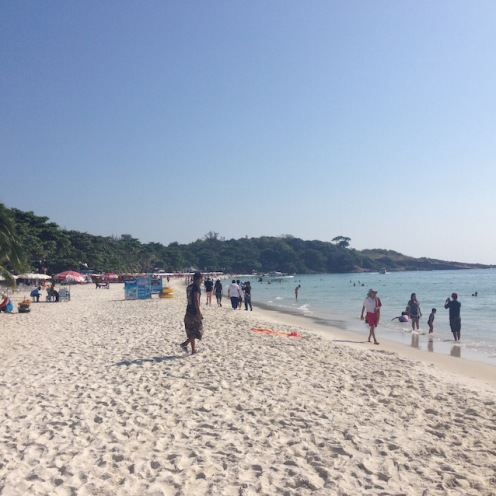 The beautiful but busy Ao Phai