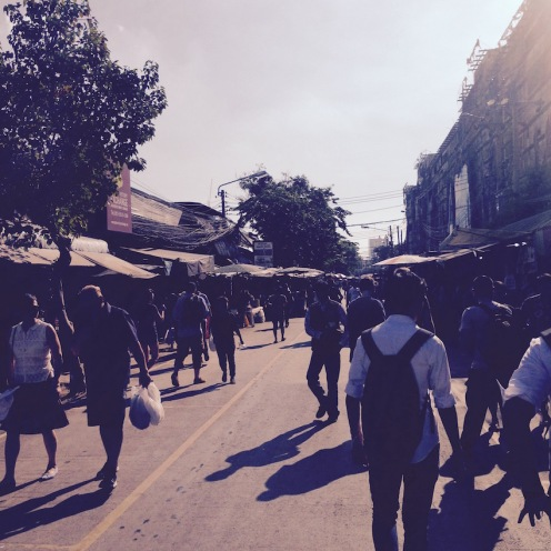 Wandering around Chatuchak Weekend Market