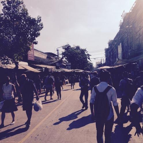 Wandering around Chatuchak Weekend Market