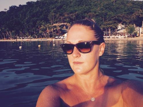 Selfies in the sea