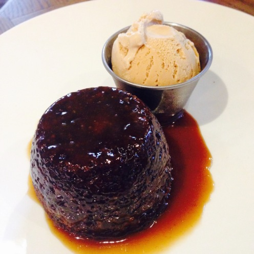 Sticky Toffee pud