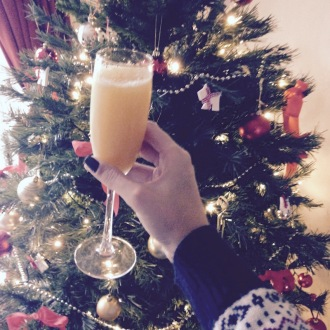 Copious amounts of Bucks Fizz were quaffed