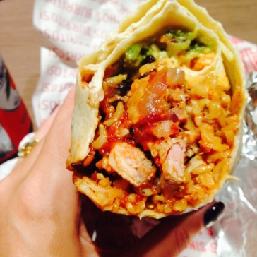 A Manchester favourite, Barburrito