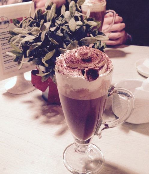 Hot Choc with the works