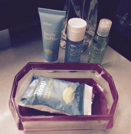 Bliss bathroom products! Whoop whoop!