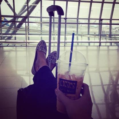 A Cha Nom Yen before flying.