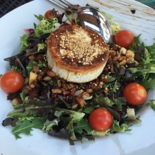 Goats cheese salad