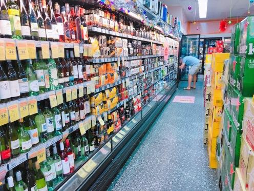 Dave loving the Bottle Shop!