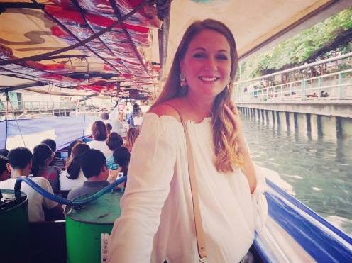 My first proper Khlong Taxi ride!