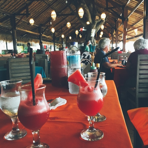 Too many cocktails at Chillout Bar