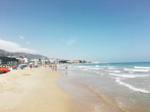 Alcossebre beach