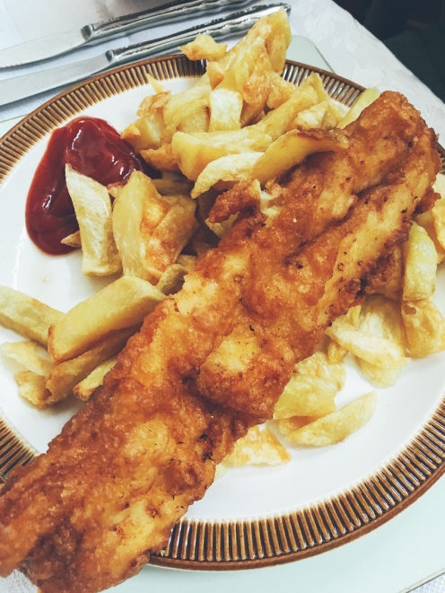 Fish and chips - tick