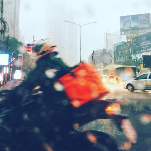 Bangkok Rushhour Rain